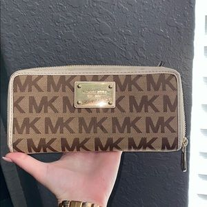 Michael Kors Brown Logo Wallet